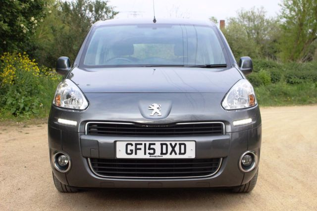 Peugeot Partner Tepee 1.6 HDi 92 S 5dr, FULL SERVICE HISTORY MPV Diesel Shinning Grey Metallic