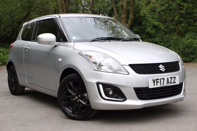 Suzuki Swift 1.2 SZ-L [Nav] 3dr,PRICE AFTER £1000 DEPOSIT CONTRIBUTION Hatchback Petrol Silky Silver Metallic