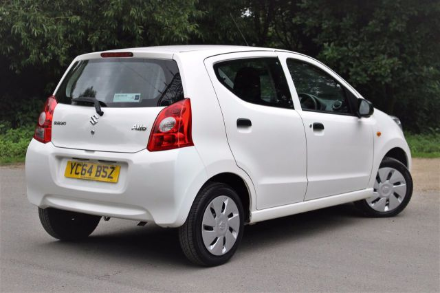 Suzuki Alto 1.0 SZ 5dr, NIL TAX, LOW INSURANCE GROUP Hatchback Petrol Superior White