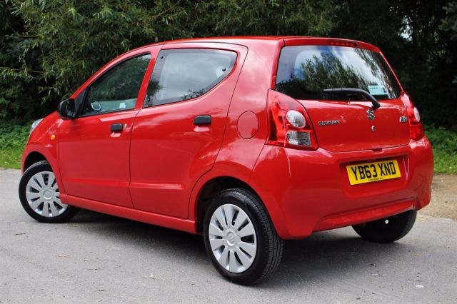 Suzuki Alto 1.0 SZ3 5dr, NIL TAX, ONE OWNER FROM NEW Hatchback Petrol Bright Red