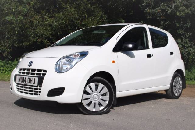 Suzuki Alto 1.0 SZ 5dr, RADIO CD PLAYER Hatchback Petrol Frost White