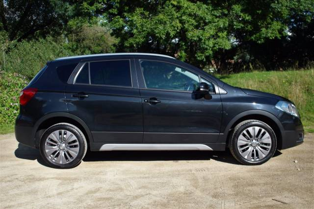 Suzuki Sx4 S-Cross 1.6 SZ4 5dr, ONE OWNER FROM NEW Crossover Petrol Cosmic Black Pearl