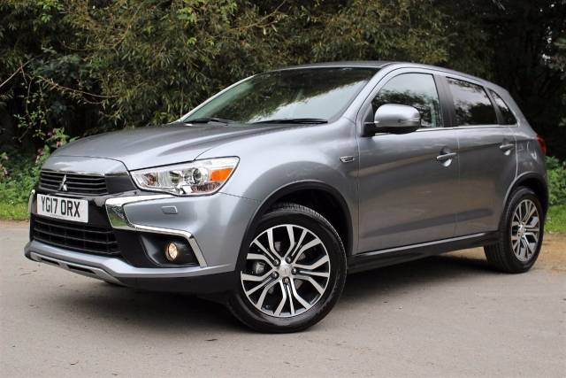 Mitsubishi ASX 1.6 3 5dr EX DEMO WITH A SERVICE PLAN. Crossover Diesel Atlantic Grey