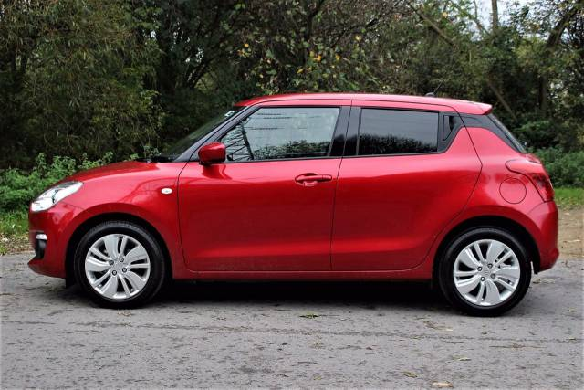 Suzuki Swift 1.0 Boosterjet SZ-T 5dr 0%, 0% FINANCE Hatchback Petrol Fervent Red