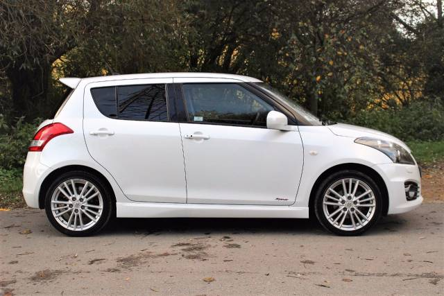 Suzuki Swift 1.6 Sport [Nav] 5dr, RARE CAR-SAT NAV Sports Petrol Pearl Cool White