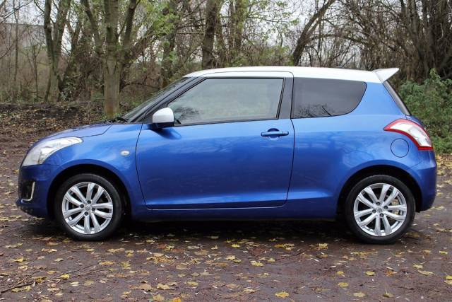 Suzuki Swift 1.2 SZ-L 3dr, ONLY £30 A YEAR TO TAX Hatchback Petrol Boost Blue/white Roof