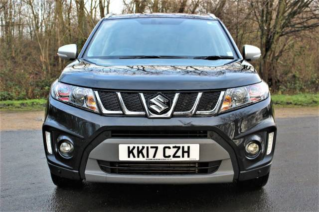 Suzuki Vitara 1.4 Boosterjet S ALLGRIP 5dr Auto,EX SUZUKI MANAGEMENT VEHICLE Four Wheel Drive Petrol Cosmic Black Metallic