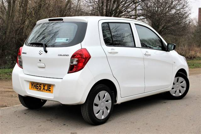 Suzuki Celerio 1.0 SZ2 5dr £0 ROAD TAX, DAB RADIO Hatchback Petrol Superior White