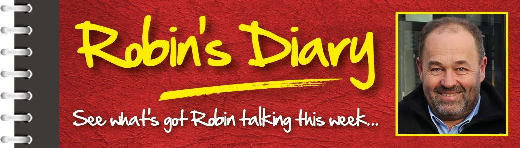 Robin's diary 22nd April 2015