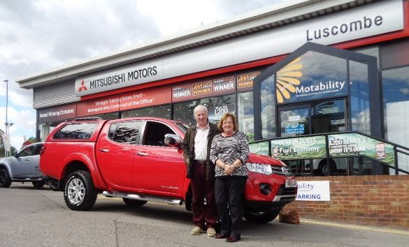 All the way from Aberdeen to buy from Luscombe Mitsubishi in Leeds