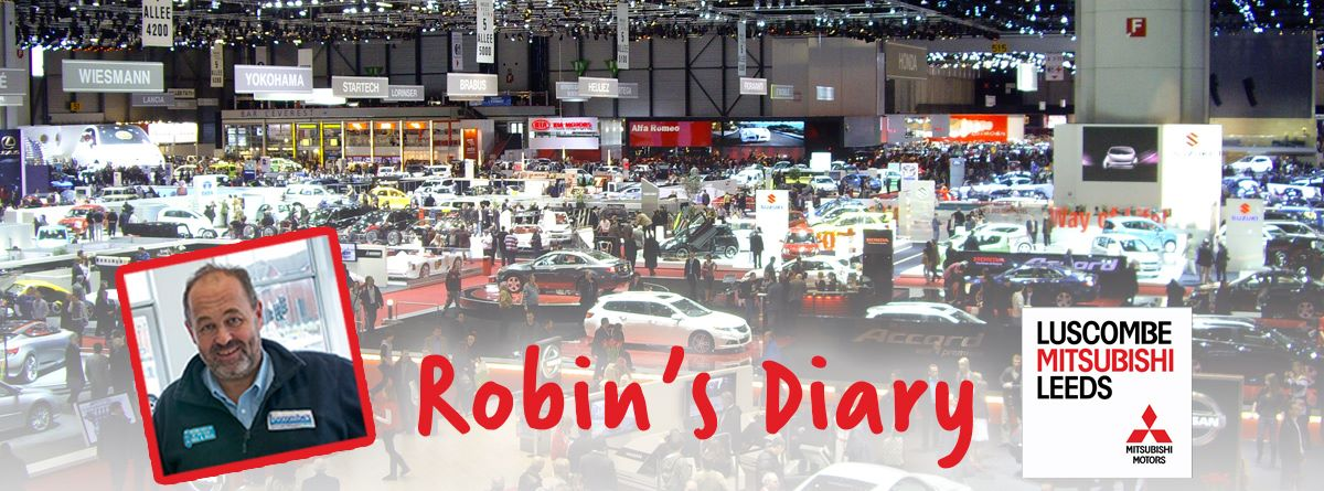 Robin's Diary 3rd March 2016