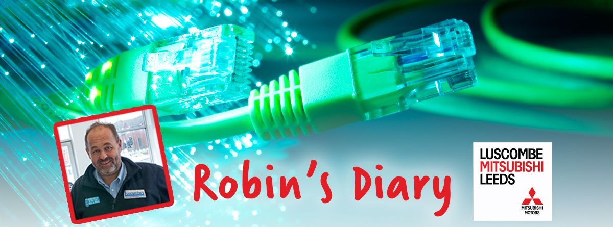 Robin's Diary 10th March 2016