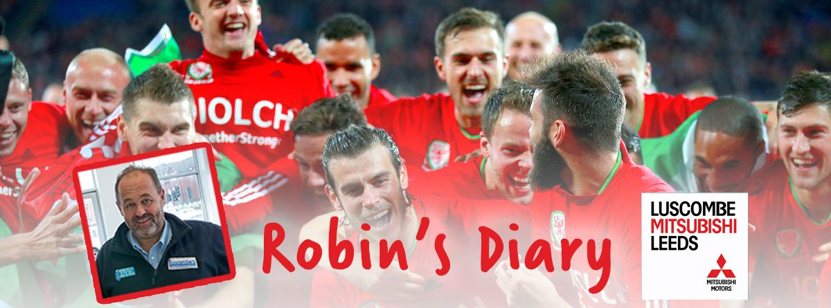 Robin's diary 22nd June 2016