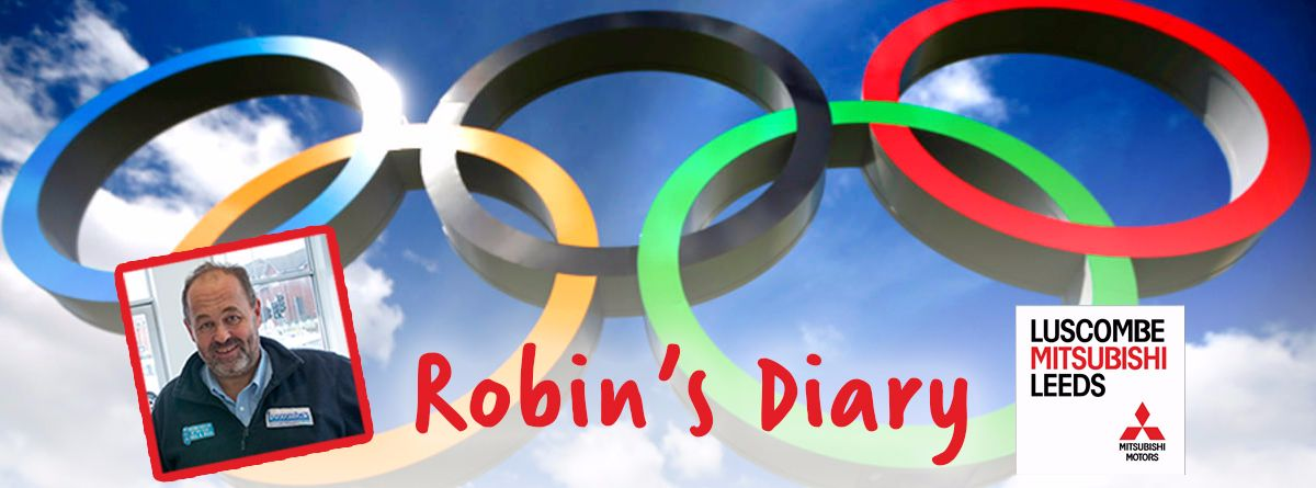 Robin's Diary 3rd August 2016