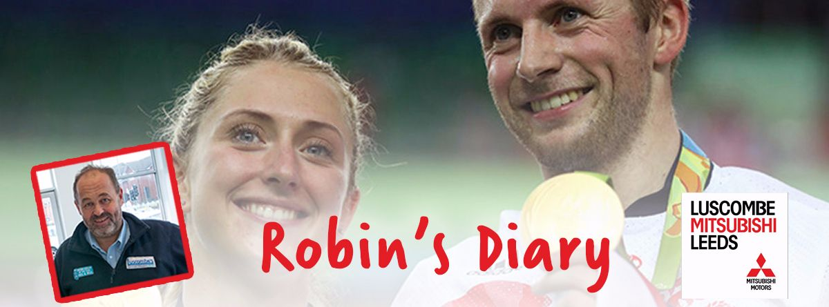 Robin's Diary 18th August 2016