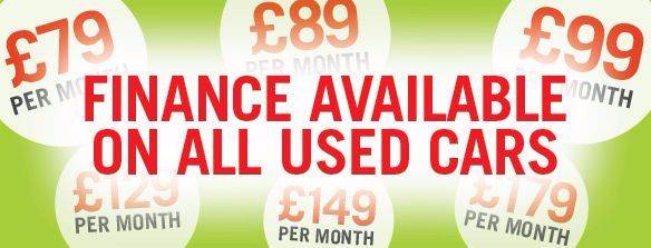 Luscombe Used Finance Banner
