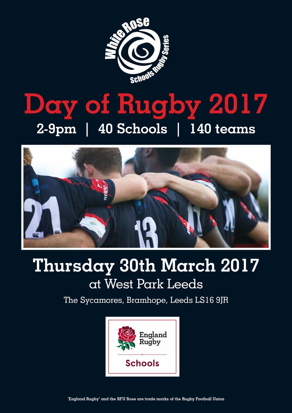 Luscombe Mitsubishi Leeds Supporting Day of Rugby 2017