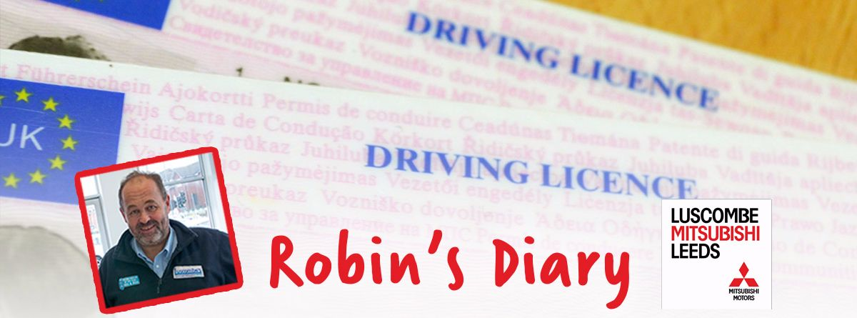 Robin's Diary 18th August 2017